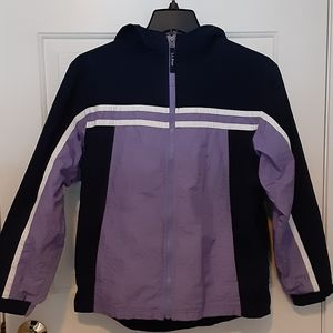 ll bean hooded jacket girl 14/16 womans small